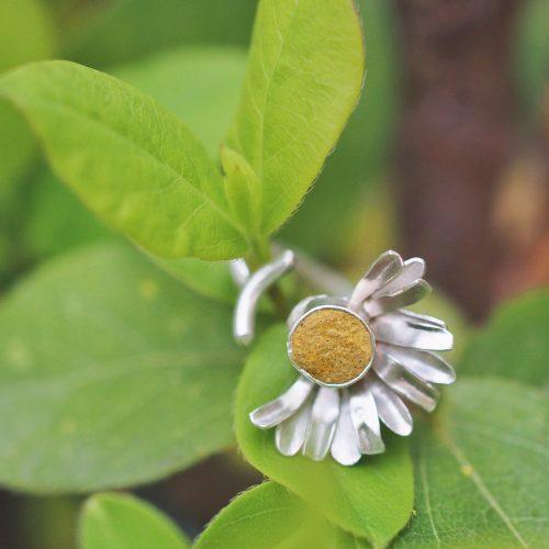 bijoux botanique éthique marguerite